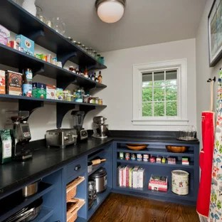75 Beautiful Kitchen Pantry With Black Countertops Pictures Ideas January 2021 Houzz