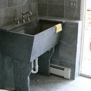soapstone laundry sink houzz