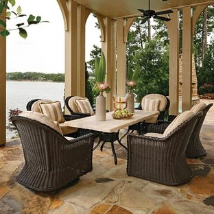 resin wicker patio furniture houzz