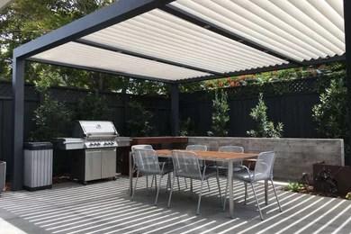 biossun louvered patio cover