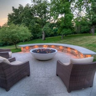 75 beautiful stamped concrete patio