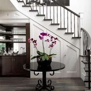 Bar Under Stairs Houzz | Bar Under The Stairs Design | Escalera | Kitchen | Storage | Basement Remodeling | Attic Stairs
