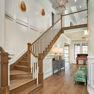 75 Beautiful Staircase Pictures Ideas September 2020 Houzz | Interior Design Staircase Wall | Luxurious Home | Unique | Beautiful | Fancy | Building Interior