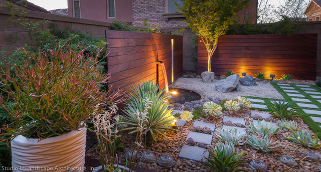 Beautiful Desert Succulent Zen Garden contemporary-landscape