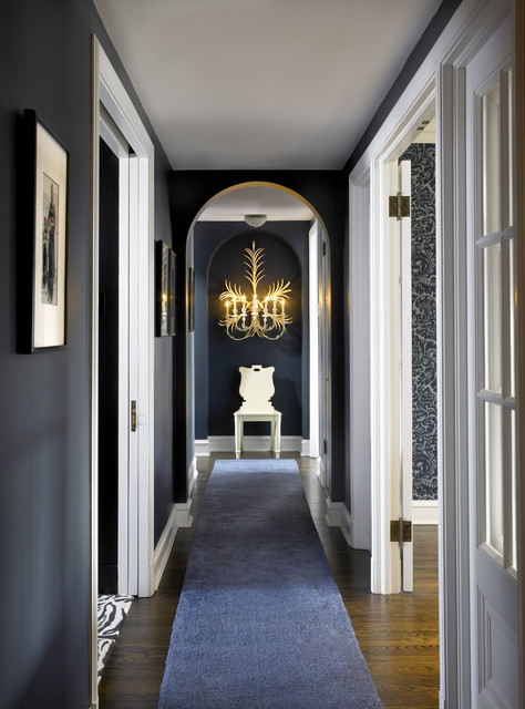Vintage Chic eclectic-hall