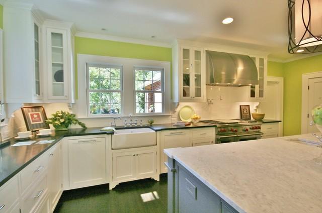 Bright Open Kitchen Eclectic Charlotte Guthmann