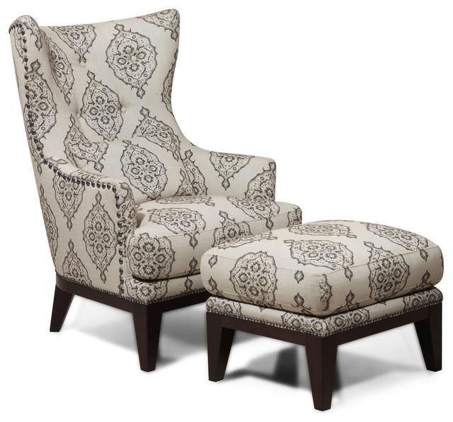 Simon Li Furniture Simon Li Fabric Accent Chair And