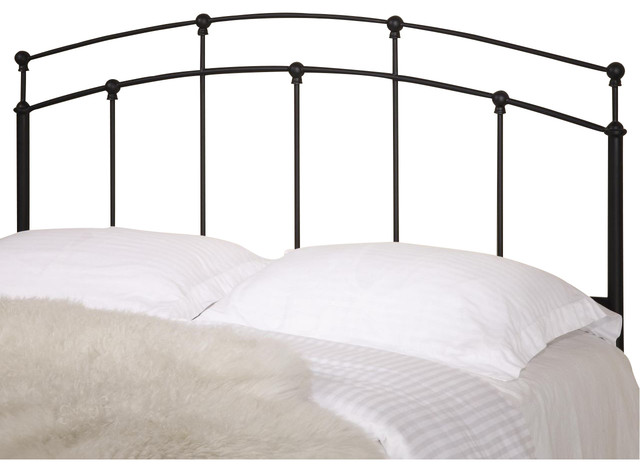 Coaster Full/Queen Metal Headboard Only, Black 300190QF