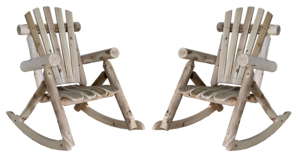 patio rocking chairs set of 2