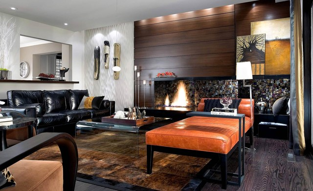 Candice Olson Design Contemporary Living Room