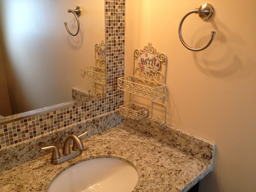 build a mosaic tile mirror in the small bathroom. good idea or not ?