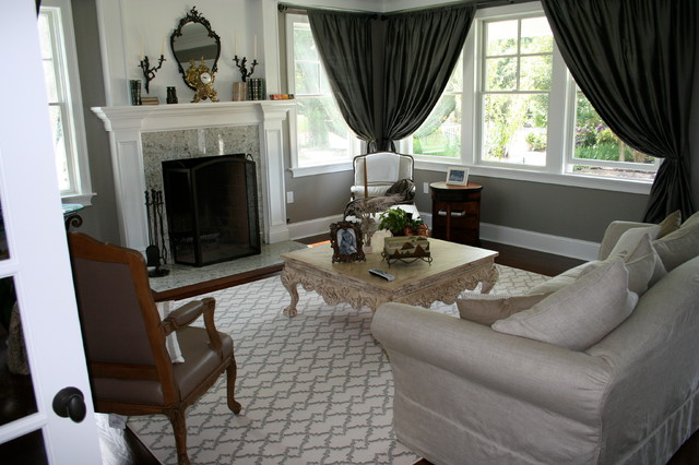Transitional Patterned Carpet