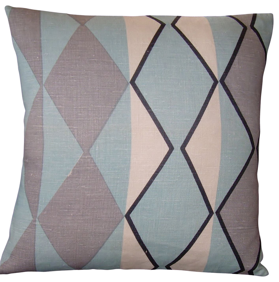 mid century modern pillow cover museum of modern art fabric