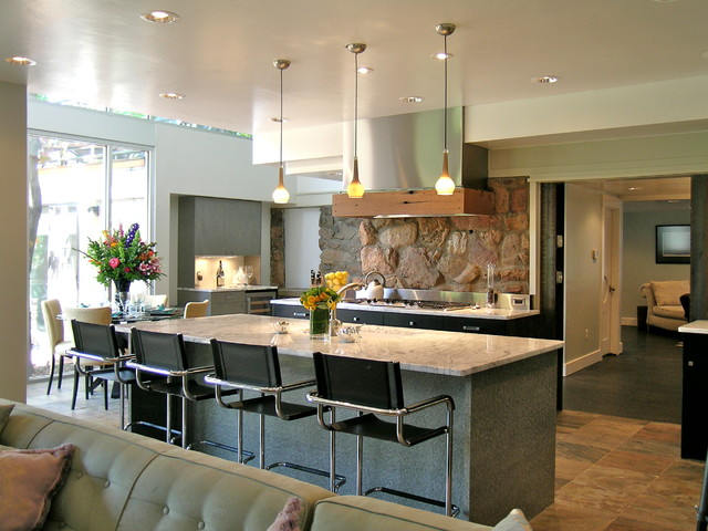 Rustic Modern Kitchen Contemporary Kitchen Denver
