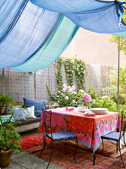 Decorate by Holly Becker and Joanna Copestick eclectic-patio