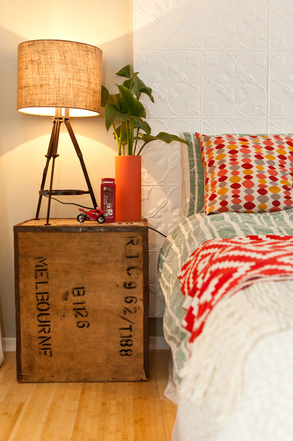House Nerd Blogger's Quirky Retreat eclectic-bedroom