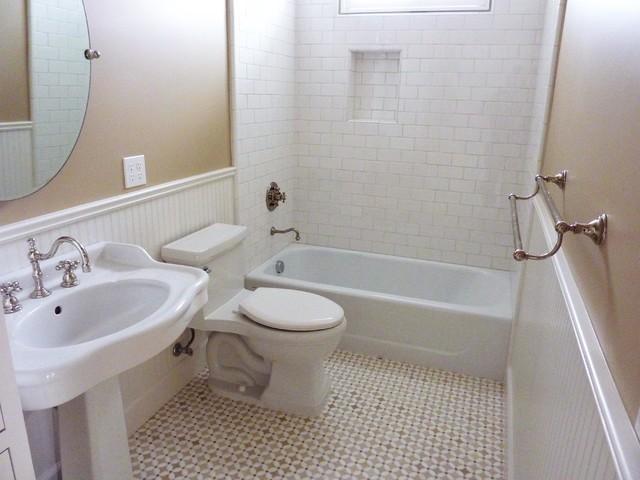 Patwin Terrace Farmhouse Eclectic Bathroom San