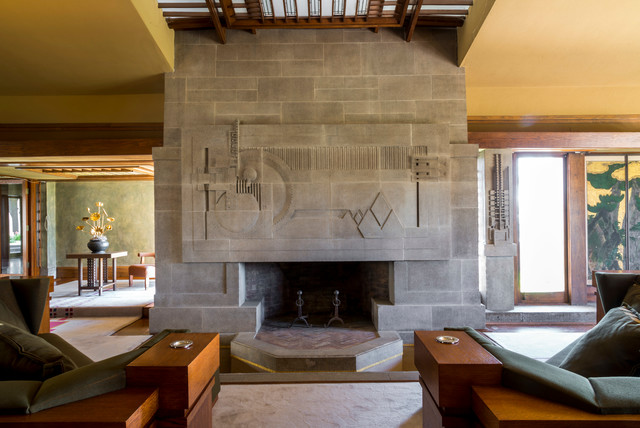 Hollyhock House Modern Living Room Los Angeles By Joshua White