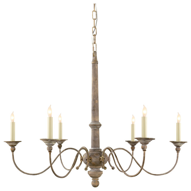 Country 6 Light Chandelier Farmhouse Chandeliers