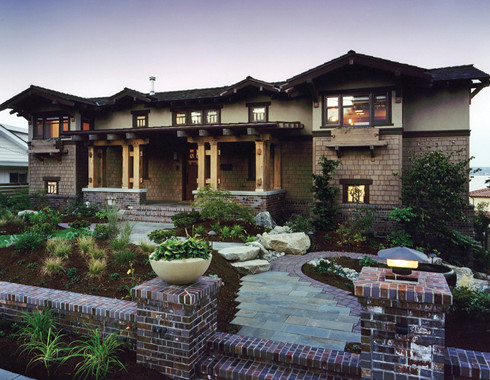Classic Arts And Crafts Style Architecture Traditional