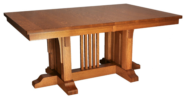 Mission Luxury Table Craftsman Dining Tables By