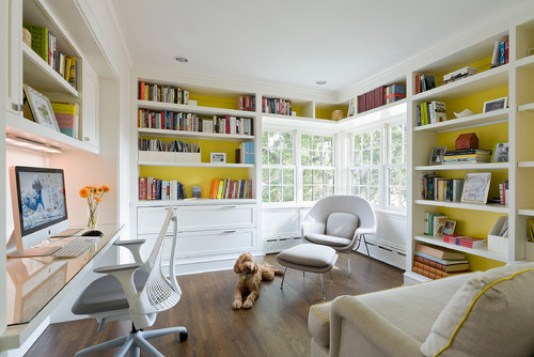 9 Home offices that will inspire you to create your own. DIY office | office organization | office makeover | Small office | work from home | chic office | interior design office | home office decor
