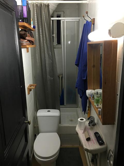 une mini salle d eau muee en bijou d