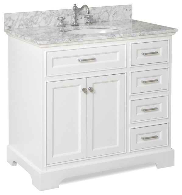aria bath vanity - transitional - bathroom vanities and sink