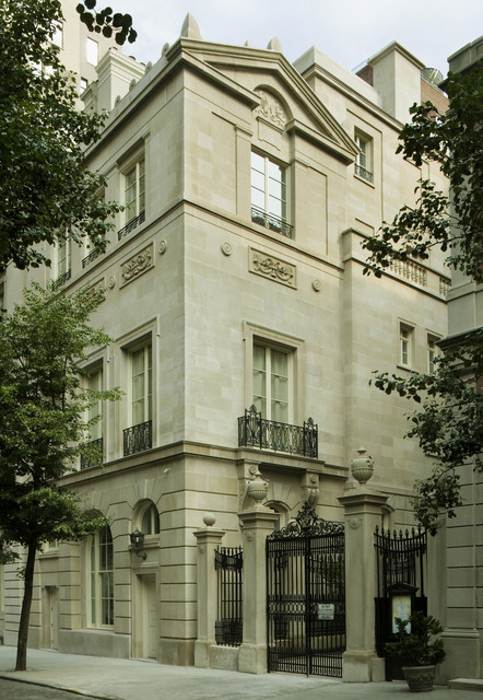 New Manhattan Townhouse Traditional Exterior New York By Zivkovic Connolly Architects