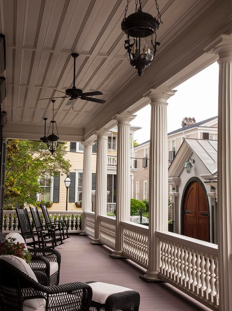Charleston Victorian Porch Charleston By Slc Interiors