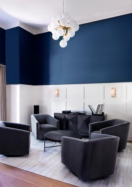 Alta Vista || Remodel || Austin, Texas contemporary-living-room