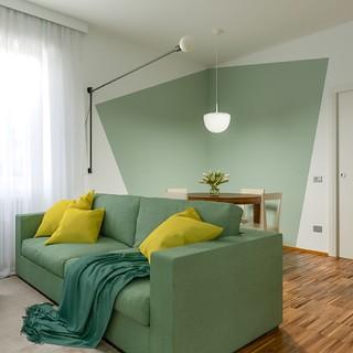 Nuova casa e la ricerca di uno  stile fresco ed originale - Progetto in corso コンテンポラリー-リビング