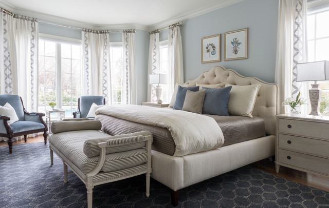 Fort Worth Georgian traditional-bedroom