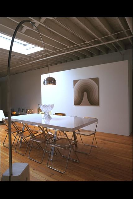 San Francisco Warehouse Loft Residence modern-dining-room
