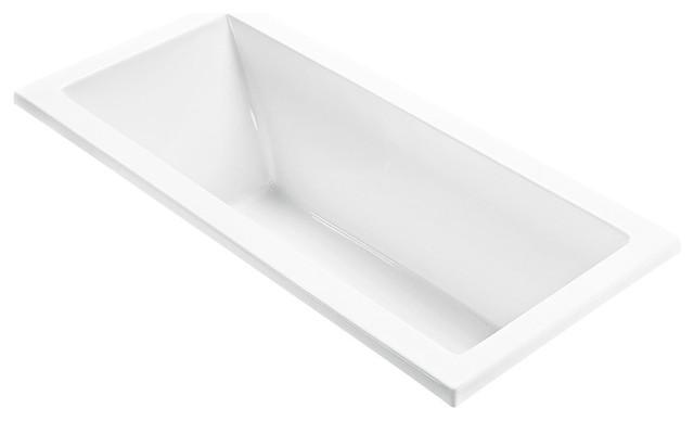 Andrea 72x32 Soaker MTI Modern Bathtubs New York