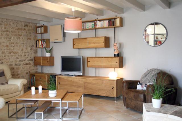 mobilier sur mesure meuble tv hi fi biblioth que et for meubles tv sur mesure