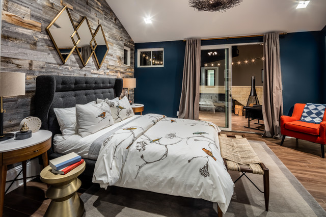 Modern Farmhouse - Builder Magazines 2016 International Builders Show Show Home transitional-bedroom