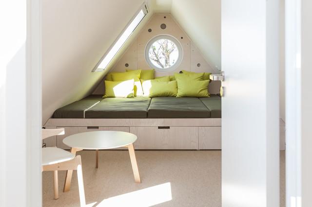 Haus Seefeuer - Ferienhaus in Wustrow modern-schlafzimmer