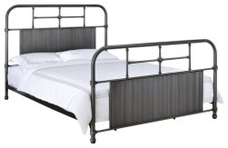 Ivey Bed, Antique Black, Queen