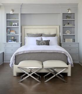 Chicago Condo Remodel transitional-bedroom