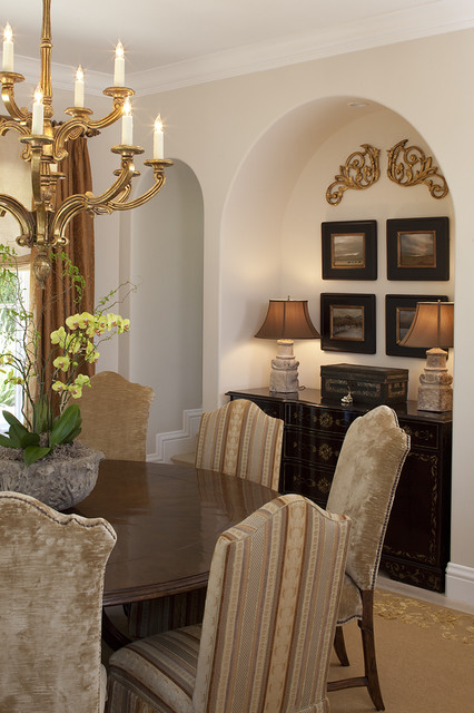Kathy Bloodworth Traditional Dining Room San