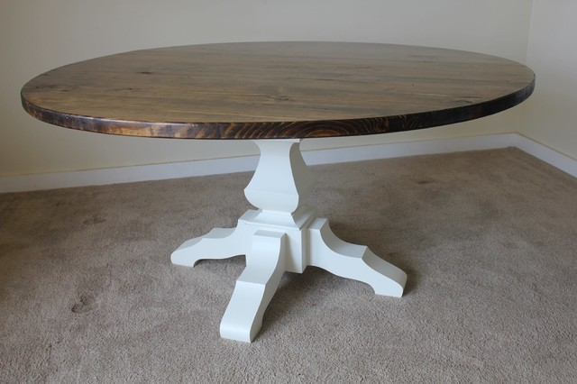 """60"""" Round Pedestal Dining Table"""