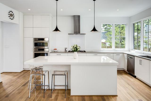 Lyon Village Addition modern-kitchen