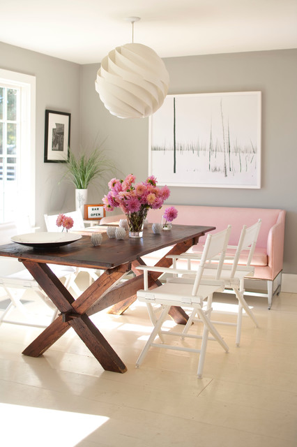 New England Cottage contemporary-dining-room