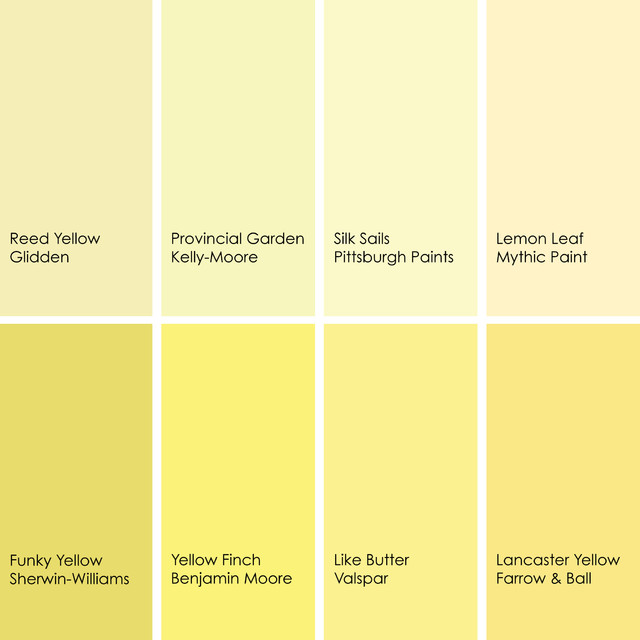 Benjamin Moore Butter Yellow