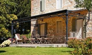 pergola en fer forge campagne terrasse et patio toulouse par m ferronnerie