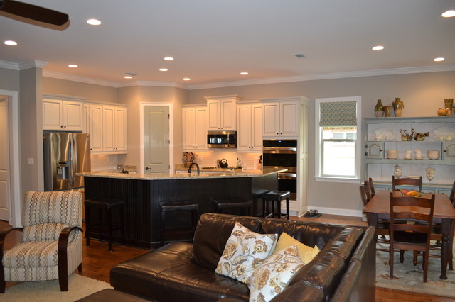Combined Kitchen Living Room