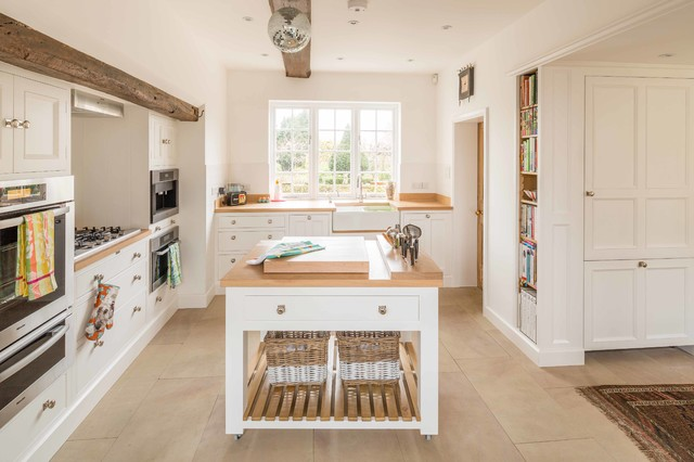Kitchen Of The Week A Fresh Look For A Georgian Country