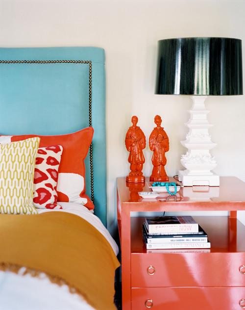Eclectic Bedroom By Los Angeles Interior Designers Decorators Burnham Design