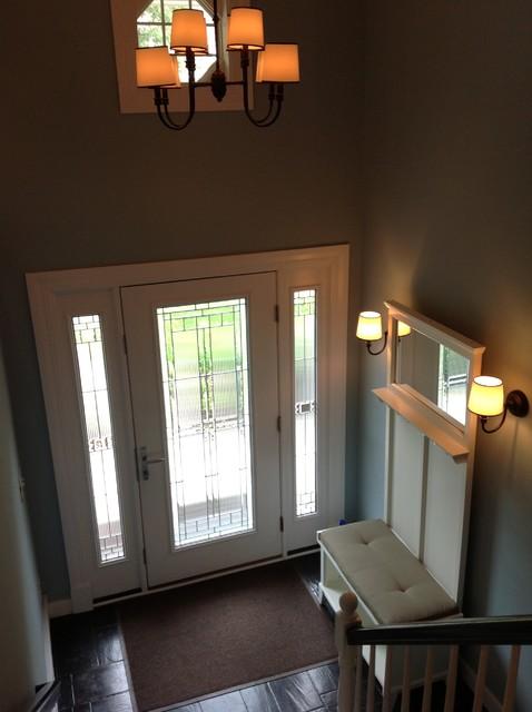 Severna Park Split Foyer Renovation Transitional Entry